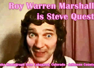 Steve Quest is Roy Warren Marshall aka Montagraph