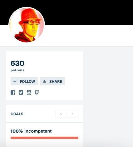 630 Patreon members supporting Michael Yuri Janitch aka Dutchsinse