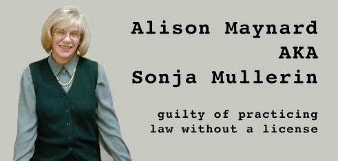Alison Maynard AKA Sonja Mullerin