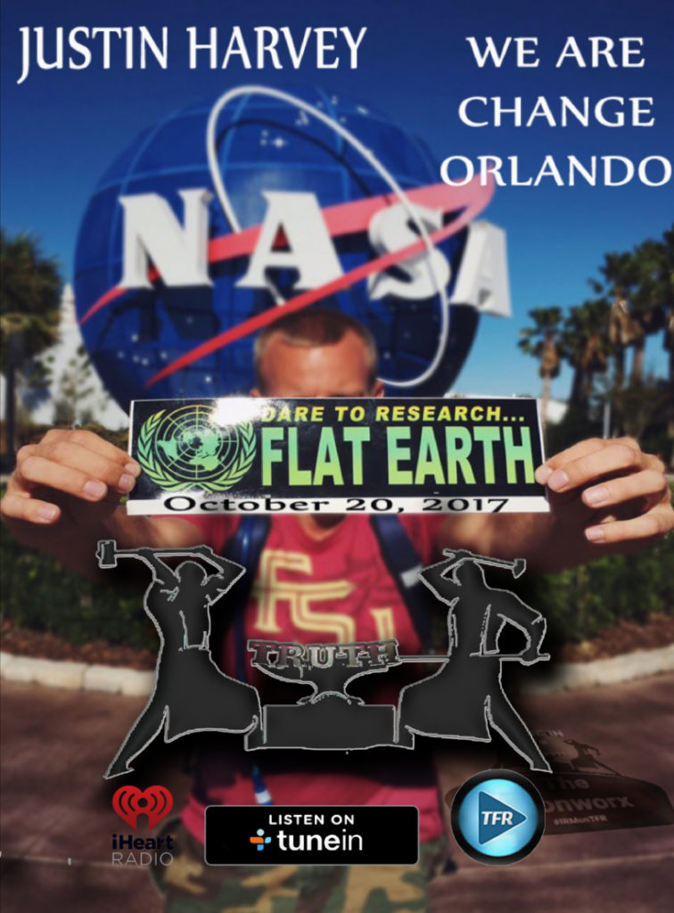 Justin Harvey - WeAreChange Orlando - Flat Earth Hoax